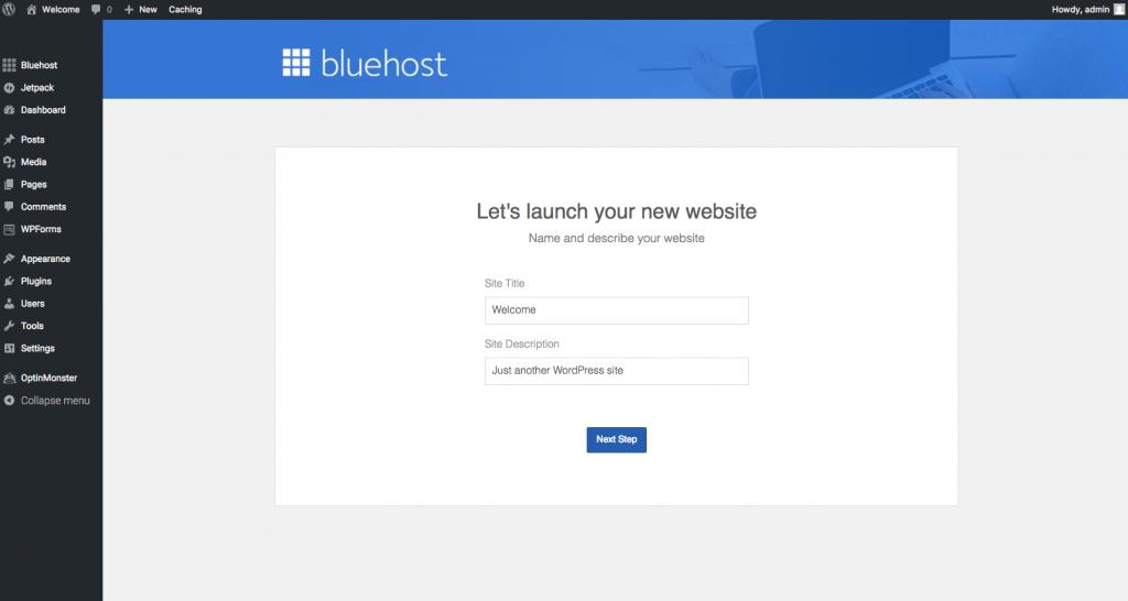 launch_wordpress_site