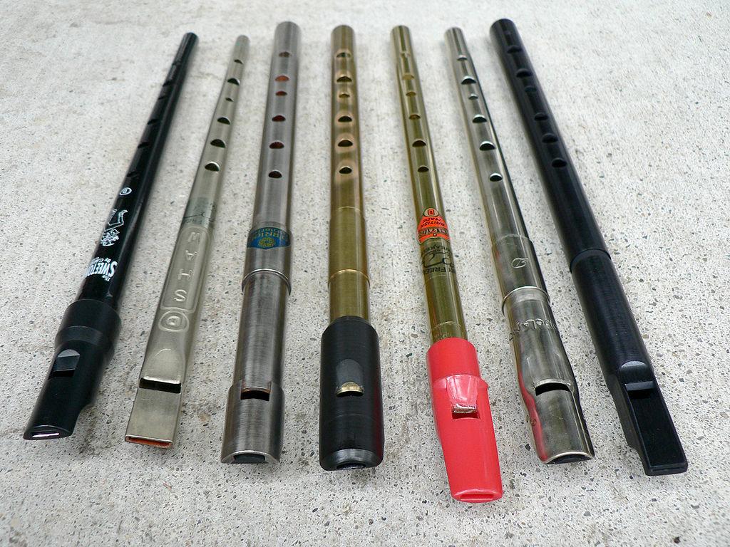 tin-whistles