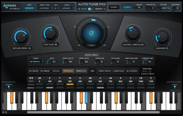 1. Antares Auto-Tune Pro
