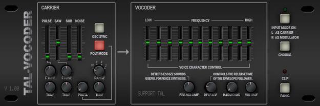 8. TAL-Vocoder (Free)