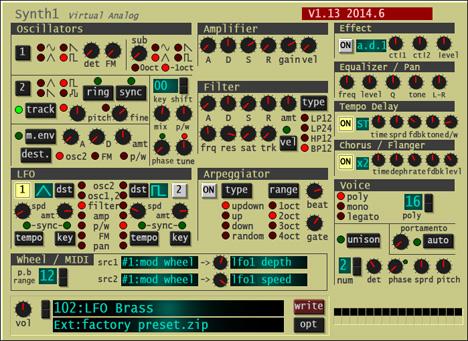 3. Synth1 by Daichi Laboratory