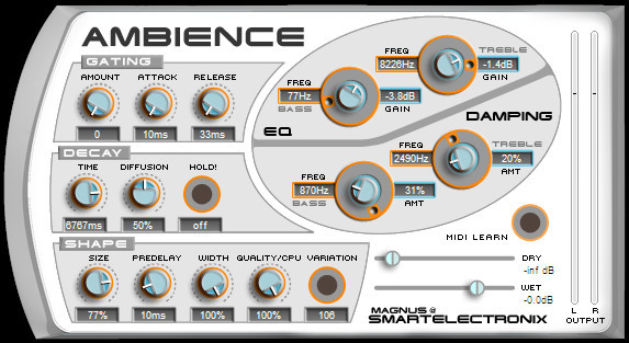 1. Ambience by Smart Electronix