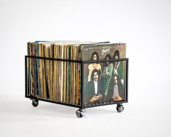 4. DesignAtelierArticle Metal LP storage