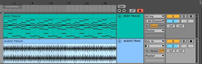 MIDI-audio